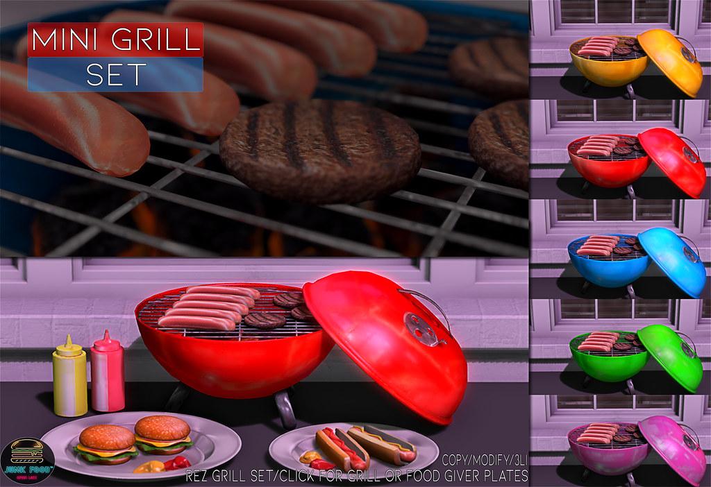 Junk Food – Mini Grill Set