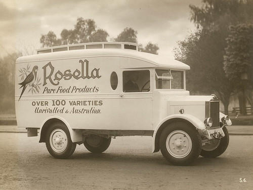 Rosella delivery truck, Australia, ca. 1930, Peter Anderson Collection | by State Library of New South Wales collection