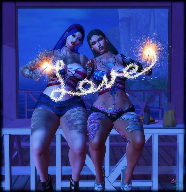 Sparkling together