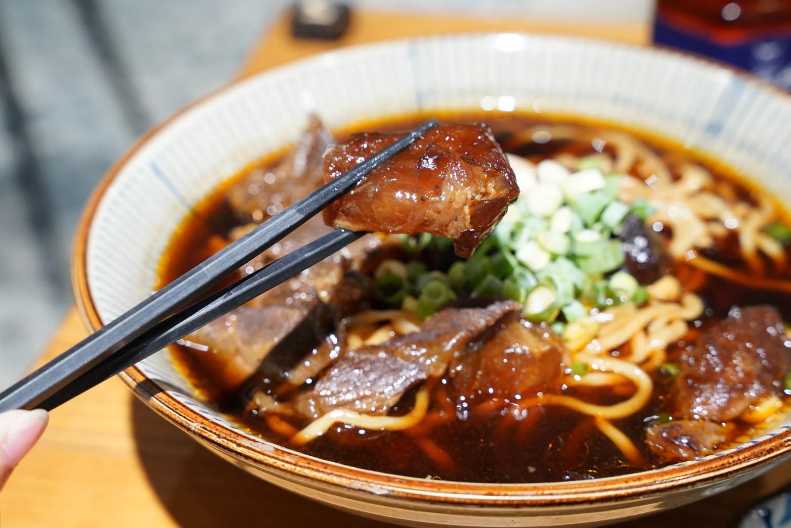 東館牛-紅燒半筋半肉牛肉麵2