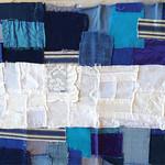 Bandera azul y blanco - Carmen Elena Trigueros
