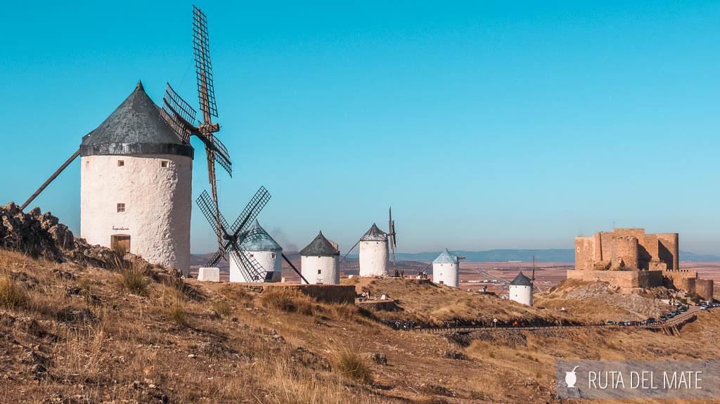 Consuegra, Ruta del Quijote en Coche