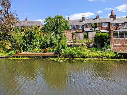Houses by the canal at Preston | by Tony Worrall