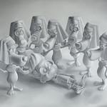 Lección de anatomía. De la serie: Cajita feliz - Walterio Iraheta