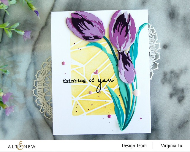 Altenew-GeometricLandscapeStencil-Craft-a-Flower-Tulip#3-001