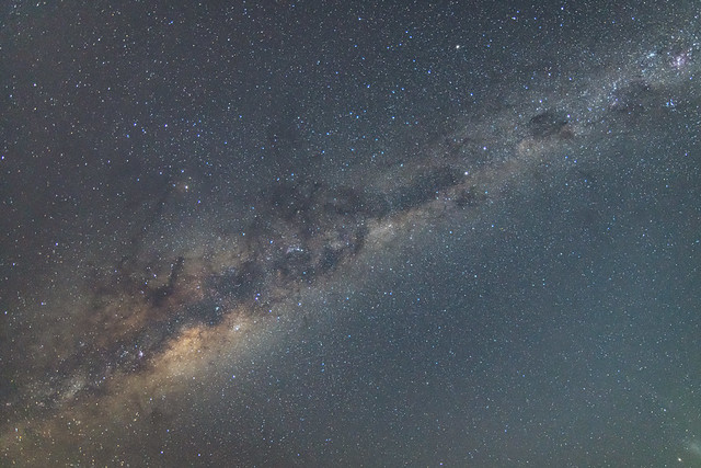 Milky Way and the dark Starry Sky