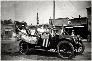 Great Uncle Adriano J. Peg and the 4th of July Car
