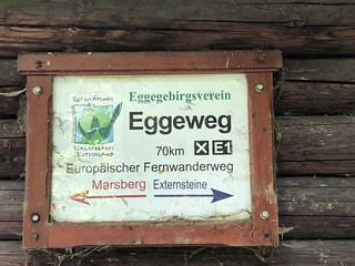 Sign board Eggeweg