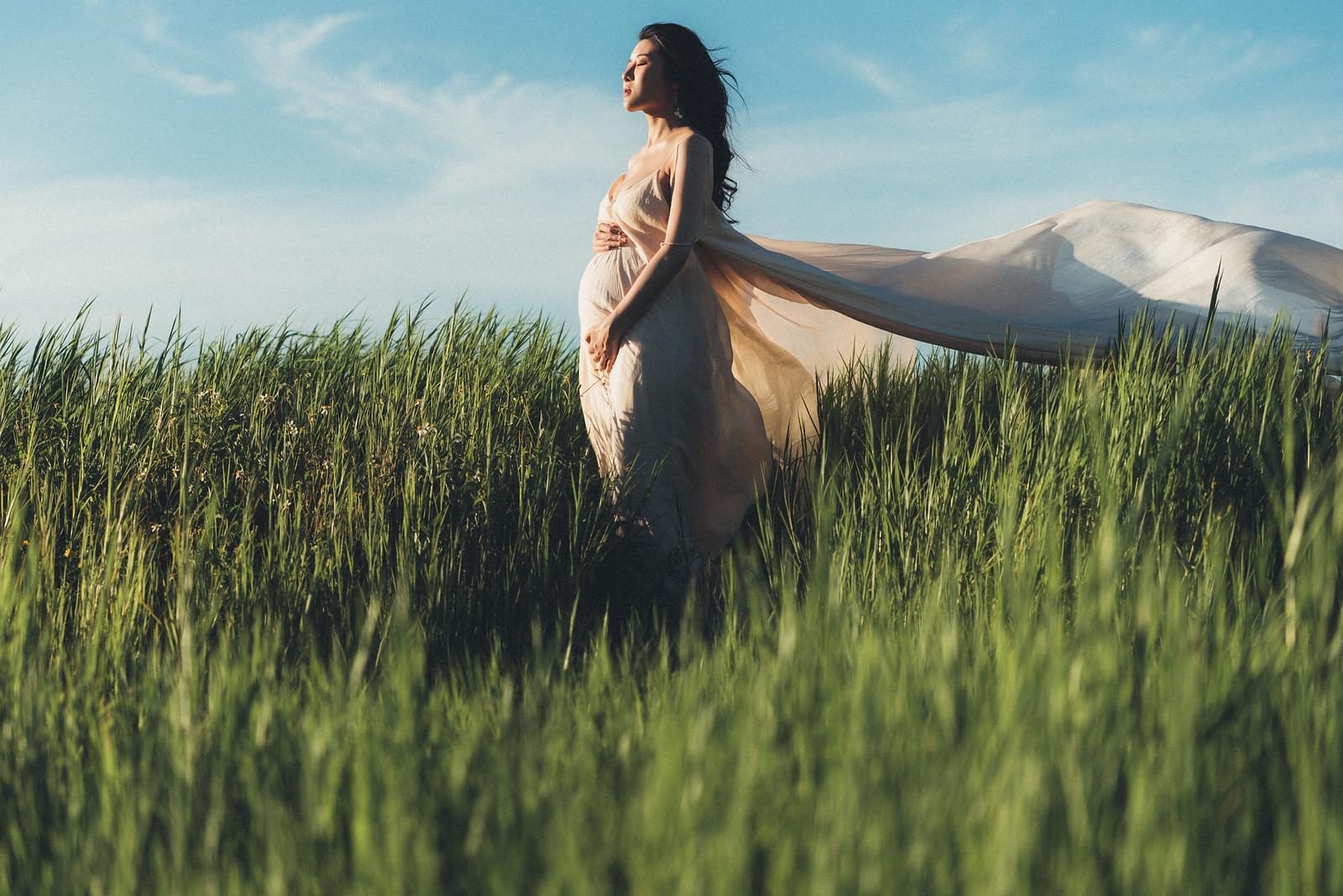 《孕婦寫真》Doris / 攝影師 Eric Yeh / 良大攝影工作室