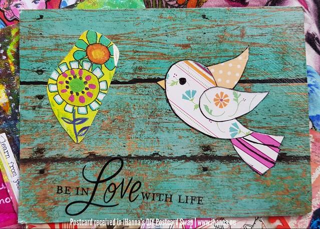 DIY Postcard for iHanna made by Holly P, Texas, US