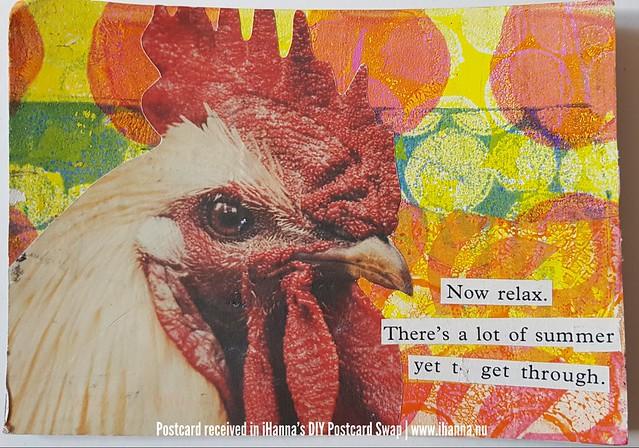 DIY Postcard for iHanna made by Tina, US