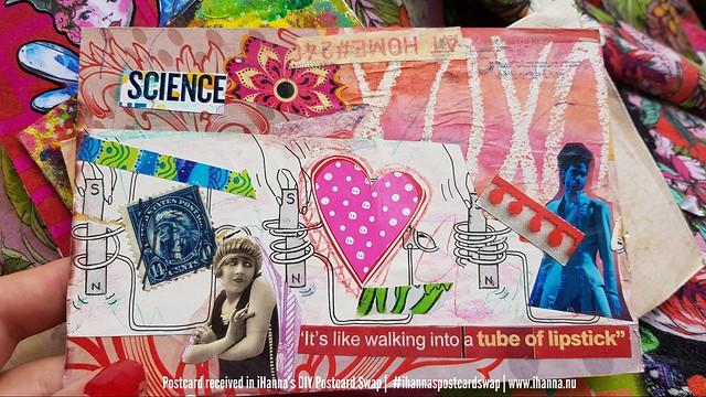 DIY Postcards for iHanna's DIY Postcard Swap 2020, made by Marcia C, Texas US