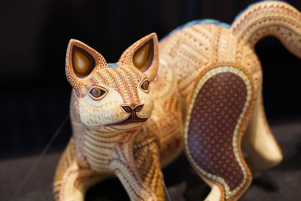 an animal statue