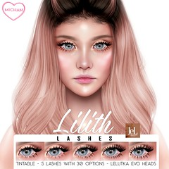 Lilith Lashes for TLC