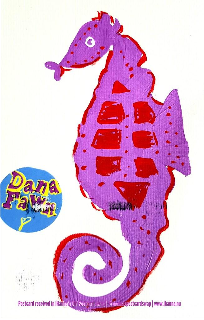DIY Postcard for iHanna made by Dana G, Florida, US