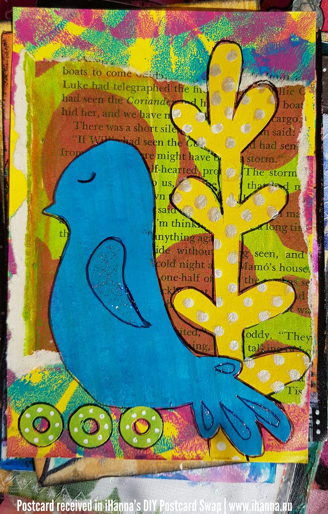 DIY Postcard for iHanna made by Patricia P, Rhode Island, US