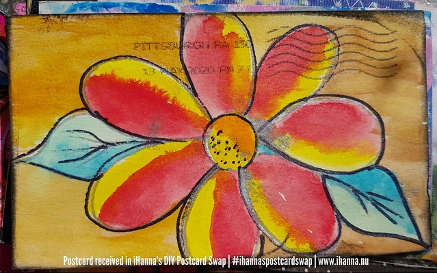 DIY Postcard for iHanna made by Bobbi, US
