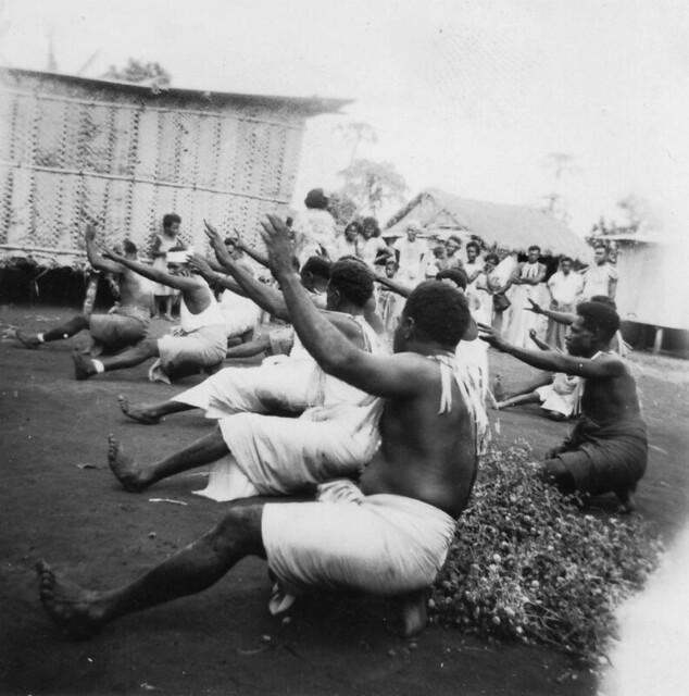 Ugar Island dancers 1958