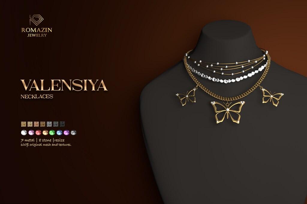 Romazin – Necklaces <Valensiya>, FatPack