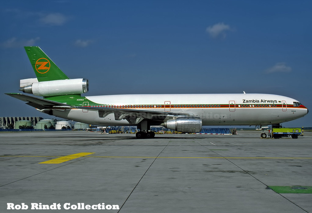 Zambia Airways DC-10-30 N3016Z