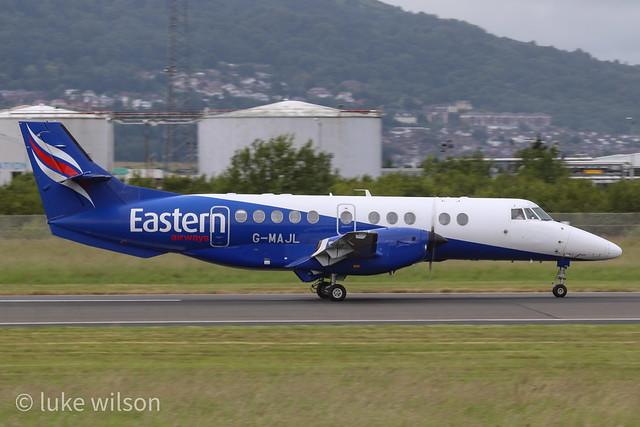 Eastern Airways BAe Jetstream41 G-MAJL