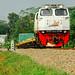 KAI CC2061304 (GECM20EMP-04) pulling 2739 Argo Dynamix Cement Transport from Kroya to Karangtalun