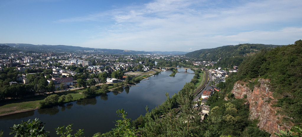 Panorama of the City of Trier