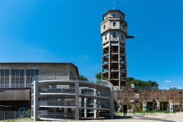 Neu gebaut im stillgelegten Industrieareal