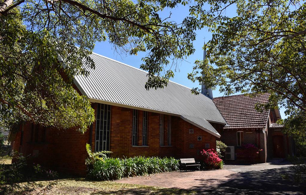 All Saints Anglican Church, Oatley West, Sydney, NSW.