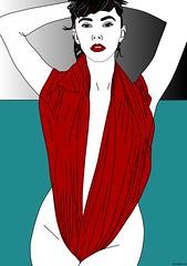 Juliette - Pop Art by Peter Tschirky - 2020