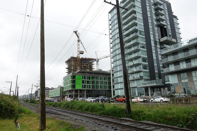 River District construction