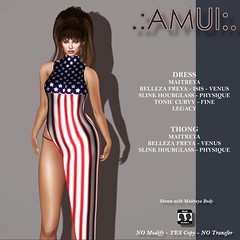 .:AMUI:. 4TH JULY INDEPENDENCE DAY DRESS