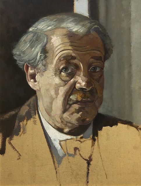 1949 - Autorretrato - Josef Stoitzner