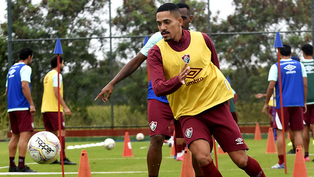 Treino do Fluminense 04/07/2020