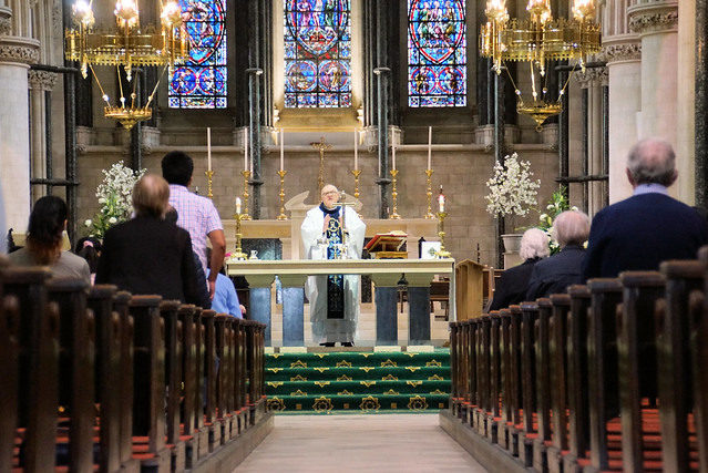 St Johns Cathedral First Mass Back July20
