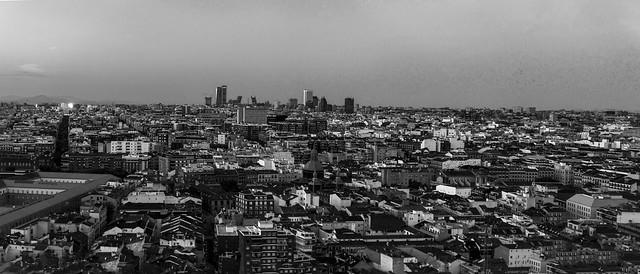 Madrid visto desde el Hotel Plaza-Riu