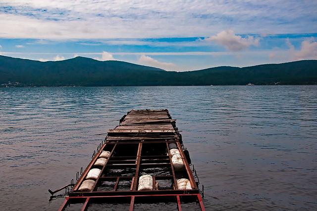 Pier, Lake Yamanaka