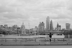 City of London from Waterloo Bridge