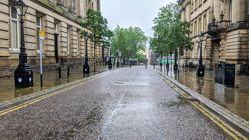Wet streets of Preston | by Tony Worrall