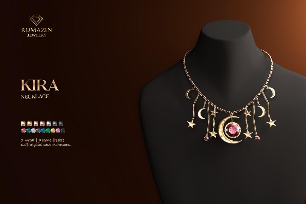 Romazin – Necklace <Kira>