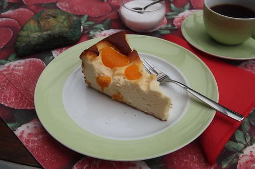Käsekuchen mit Mandarinchen (mein 2. Stück)