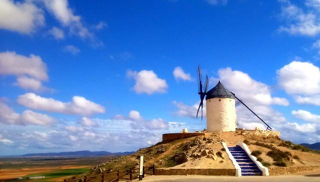 El gigante de Cervantes!!!