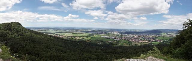 Lochenstein Ausblick