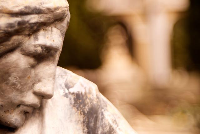 Staglieno-Genova monumental cemetery.