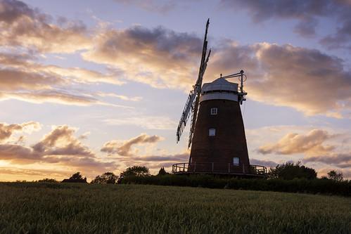 nikond7200 landscape essex britishcountryside windmill thaxted sunset summer
