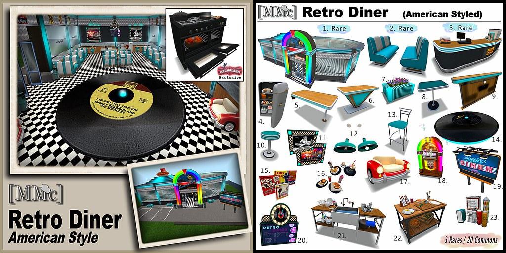 [MMc] Retro Diner – American Style