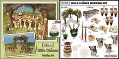 [MMc] Mille Chenes Wedding Set