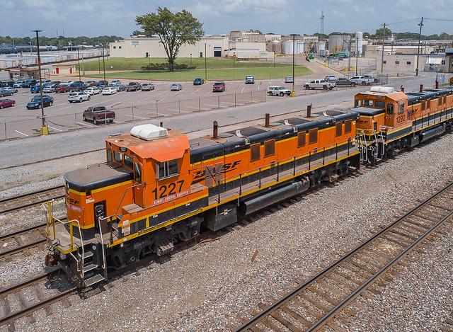 BNSF 1227 (NRE 3GS21B) KC Jct. Memphis, Tennessee