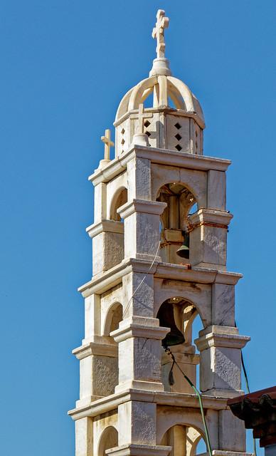 Bell Tower - Local Church - Skopelos Town (Greece) Panasonic TZ200 (DxO Edited)