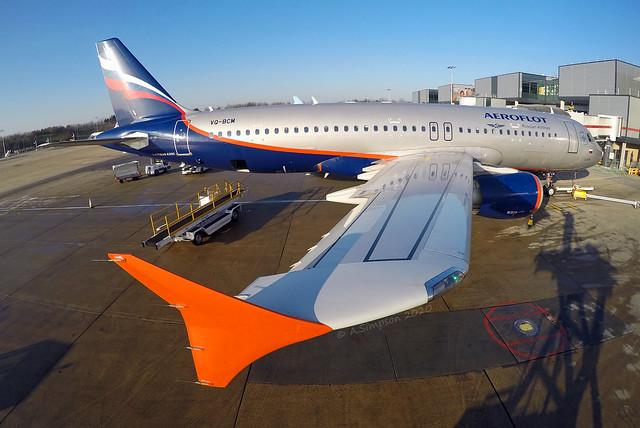 Aeroflot - VQ-BCM - London Gatwick (LGW/EGKK)